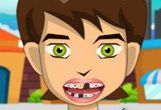 Игра Бен 10 у дантиста