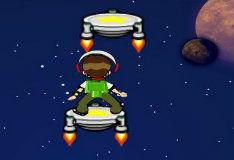 Игра Бен 10: прыжок в космос