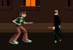 Игра Бен 10: король улиц