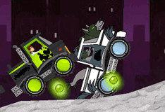 Игра Ben 10: уличные гонки на грузовиках