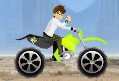 Бен 10: гонка на мотоциклах