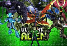 Игра Бен 10: космический пазл