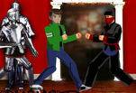 Играть бесплатно в Бен 10 против ниндзя