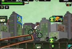Игра Игра Бен 10 на мотоцикле