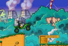 Игра Бен 10: бронированный грузовик