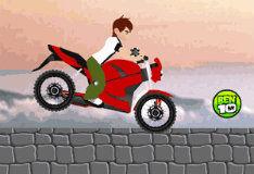 Игра Бен 10: трюки на мотоцикле