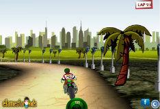 Игра Бен 10: мото 3D