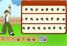 Игра Бен 10: фруктовое веселье