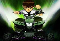 Игра Бен 10: 3D мотокросс
