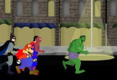 Игра Беги, супергерой, беги!