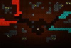 Игра Майнкрафт: замурованный в пещере