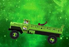 Игра Бен 10: грузовик с инопланетянами