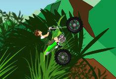 Игра Бен 10: в джунглях на байке