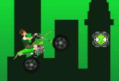 Игра Бен 10: крутой мотозаезд