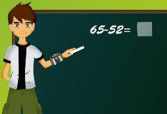 Игра Бен 10: весёлая математика