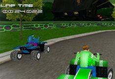 Игра Ben 10: гонка на мотовездеходе 3D