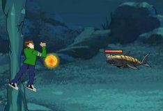 Игра Ben 10: речной монстр
