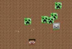 Игра Майнкрафт: убей всех криперов