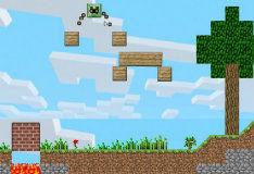 Игра Майнкрафт: сожги крипера