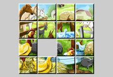 Игра Пазл: домашние животные