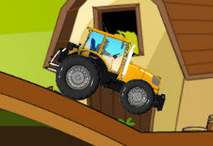 Игра Гонщик на тракторе