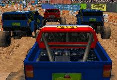 Игра Громадные колеса 3D