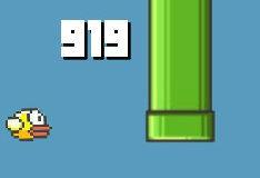 Игра Flappy Bird: 999 очков