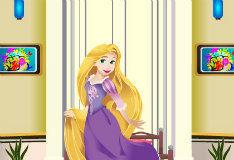 Игра Новая комната принцессы Рапунцель