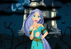 Игра Хэллоуин принцессы Рапунцель