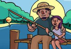 Игра Рыбная ловля