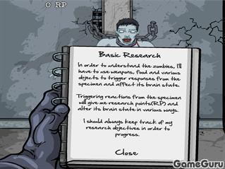Игра Лаборатория мертвецов