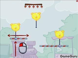 Игра Взорви воздушный шар