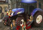 Играть бесплатно в Зомби-трактор