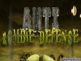 Игра Оборона против зомби