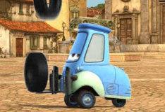 Игра Тачки 2: Гвидо — жонглер покрышками