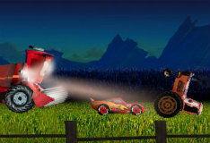 Игра Опрокинь трактор