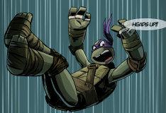 Игра Истории из черепашьего логова: интерактивный комикс