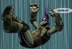 Истории из черепашьего логова: интерактивный комикс