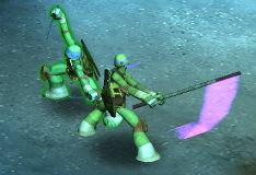 Тактика черепашек ниндзя в 3D