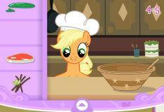 Игра Май Литл Пони: Свадебный торт от Эпплджек