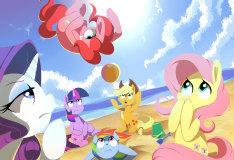 Пляжные забавы