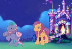 Игра Книжка со стикерами пони