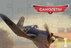 Игра Самолеты: Пазлы
