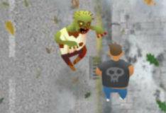 Игра Убеги от зомби