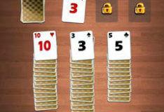Игра Пасьянс на три карты