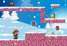 Игра Зимние приключения Марио