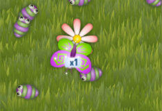 Превращение в бабочек