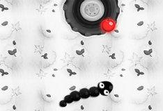 Игра Черно-белая змейка