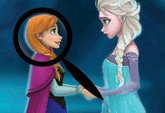 Игра Найди отличия вместе с принцессой Эльзой