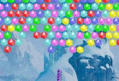 Игра Разноцветные пузырьки